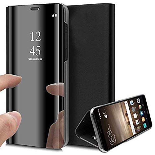 Caler Case Compatible con Samsung Galaxy S7 Edge Funda Cuero PU Espejo...