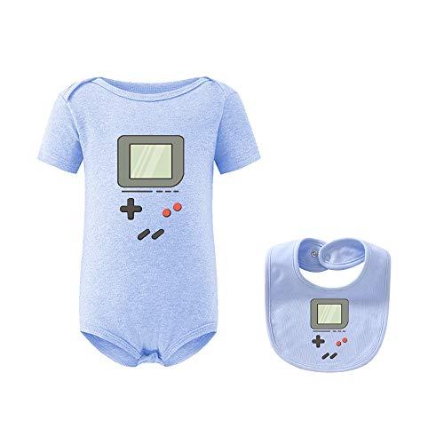 culbutomind Body para bebé de Zwilling para regalo de nacimiento azul 3-6 Meses