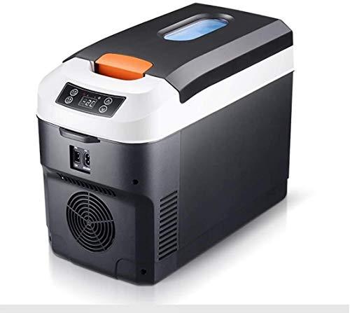 PULLEY Auto Companion - Refrigerador portátil eléctrico para coche, refrigerador, portátil, pequeño, 24 V, 12 V, 220 V, 10 l (12 V, 24 V, 220 V)