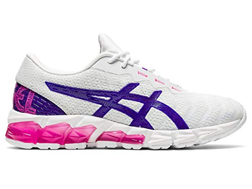 ASICS Women's Gel-Quantum 180 5 Shoes, 7M, White/Royal Azel
