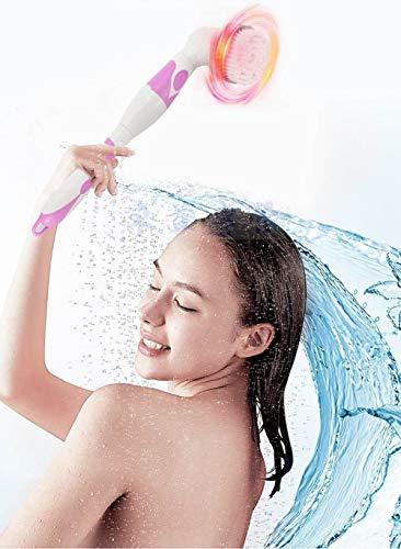 Cepillo de ducha eléctrico, Cepillo de limpieza corporal, Juego de cepillos de...