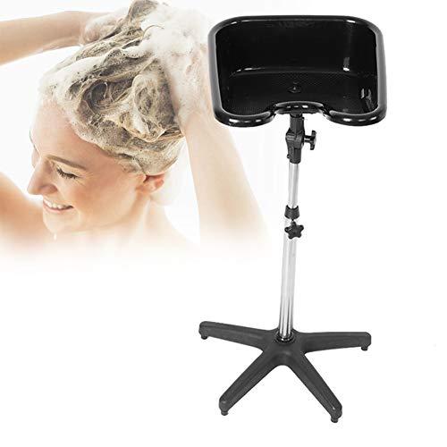 YWJH Einstellbare Wäsche Haar Wasch- oder Spülbecken, tragbare Haarshampoo Becken, Friseur Waschbecken Mobiles Waschbecken für den Heim- und Friseurladen