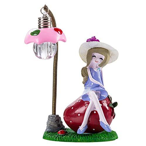 LJSHU Tischlampe Kinderzimmer Kreatives Harz Frucht-M/ädchen-Nachtlicht Schlafzimmer Nacht Study kleine Schreibtischlampe Crafts Dekoration Geburtstags-Geschenk,Blau