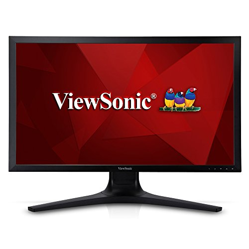 Viewsonic VP2780-4K 68,6 cm (27 Zoll) Professional 4K UHD SuperClear IPS LED-Monitor (Höhenverstellung 150mm, HDMI 2.0/DisplayPort, USb 3.0, 5ms Reaktionszeit) Schwarz