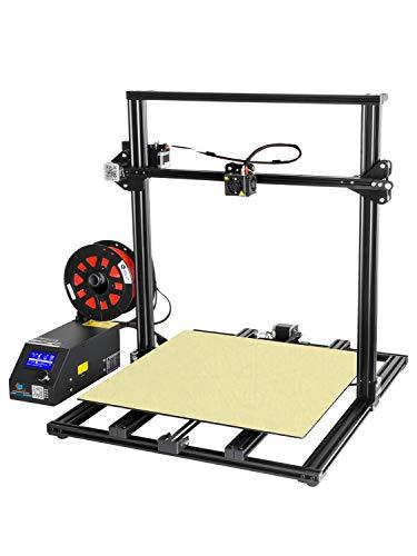 MJZHXM Imprimante 3D Moniteur à Filament de Mise à Niveau d'imprimante 3D du CR-10S 500 Dual Dual Z vis à reprendre l'impression Grand Format 500x500x500mm