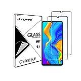 Top4pc [2 Pack] Film Vitre en Verre Trempé pour Huawei P30 Lite Protection Ecran Ultra Résistant...