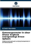 Genesungsmuster in einer Shona- Englisch zweisprachige Broca-Aphasik