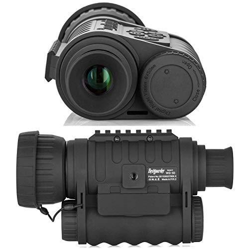 bestguarder Visor monocular digital de visión nocturna 6x50