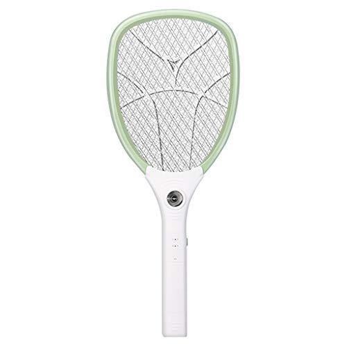 BINGBIAN portátil eléctrico Mosquito asesino raqueta 3000 V 1200 mAh recargable Bug Zapper Fly Swatters