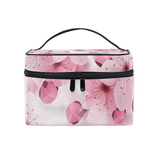 Pink Cherry Sakura Trousse de Toilette de Voyage pour Femme ou Fille