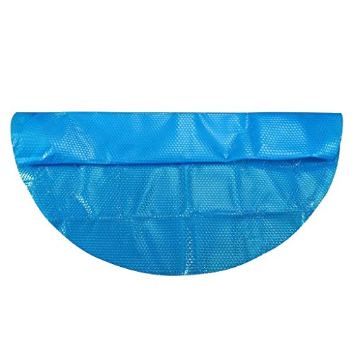NEWDeevy Round Pool Cover Protector 8/10/12/15ft, Heating Blanket for In-Ground and Above-Ground Round Swimming Pools Diameter Easy Set and Frame Pools Round Pool Cover (10ft)