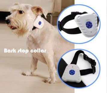 Best Tech Anti-bark Training Pet Collar Bark Collar - Pet Leash Collar - Pet Behavior Deterrent - Bark Control Anti Bark Collar Tool Trainer for Small Medium Dogs