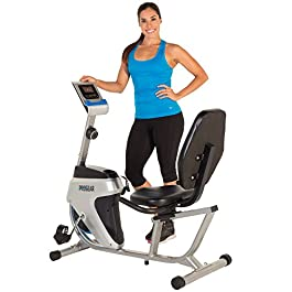Progear 555LXT Magnetic Tension Recumbent Bike with Workout ...