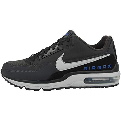 Nike Mens AIR MAX LTD 3 Running Shoe, Black/Lt Smoke Grey-Dk Smoke Grey, 42.5 EU