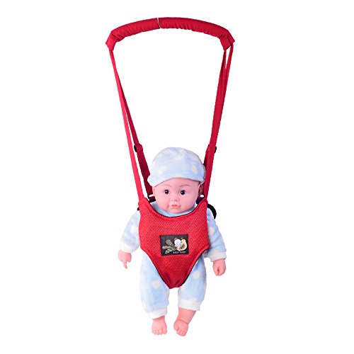Baby Harness Child Safety Learning Walking Assistant Kids Keeper (Red02)