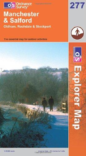 OS Explorer map 277 : Manchester & Salford