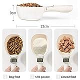 HUJYGT Cuchara dosificadora de Alimentos para Mascotas Escala 250 ml Taza Perro Gato Dieta alimentación balanceada Cuchara Cuchara