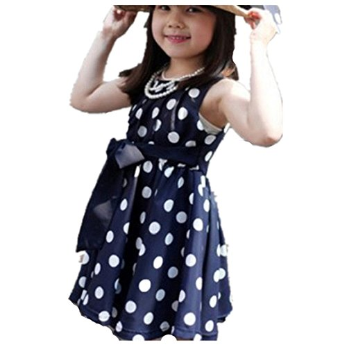 Vovotrade® 1PC kinderkleding deppen meisjes chiffon zomerjurk jurk