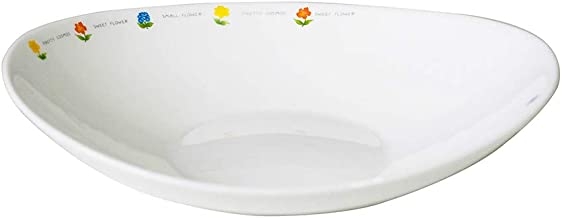 The Tableware Fiore Opal Tempered Glass Dinnerware Set of 4 (Wave Salad Bowl)