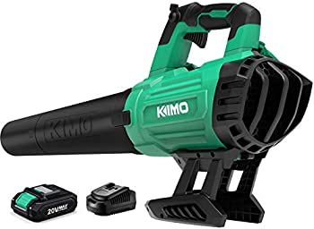 Kimo 20V Cordless Leaf Blower with Battery and Charger