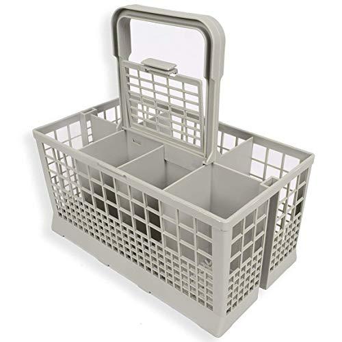 1 unids universal lavavajillas cubiertos cesta almacenamiento