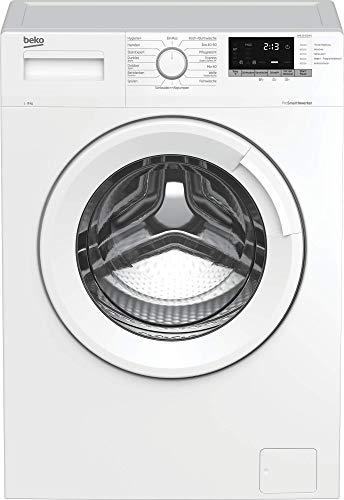 Beko WML91433NP1 vollelektronische Waschmaschine/ Multifunktionsdisplay mit Startzeitvorwahl/9 kg/ Pet Hair Removal/ Nachlegefunktion/ Energieklasse B