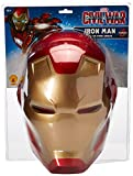 Rubie's mens Captain America: Civil War Iron Man 2-piece Costume Mask, Multi, One Size US