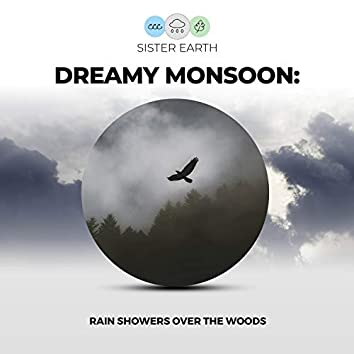 Dreamy Monsoon: Rain Showers Over the Woods