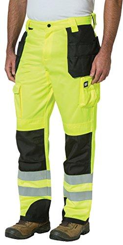 Caterpillar Herren Trademark Pant (Regular and Big & Tall Sizes) Arbeitshose, Highvis Gelb-Schwarz, 28W / 30L