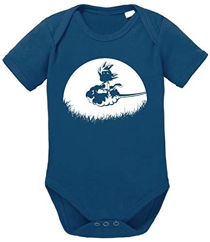 Tee Kiki Sunris Goku Baby Body Dragon de algodón orgánico Ball Son Proverbs Romper para...