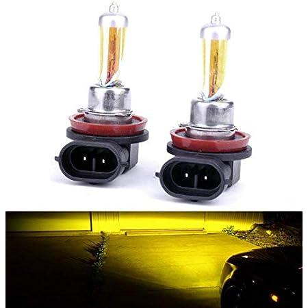 2xs Aqua Vision H8 35w Pgj19 1 12v Halogen Lampen Auto Birnen 3000k Yellow Gelb Abblendlicht Fernlicht Zusatzscheinwerfer Nebelscheinwerfer Hallenwerk Auto