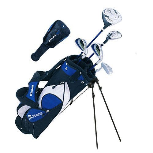Winfield Junior Force Kids Golf Clubs Set / Ages 9-12 Blue / Right-Hand / with Free Golf Towel
