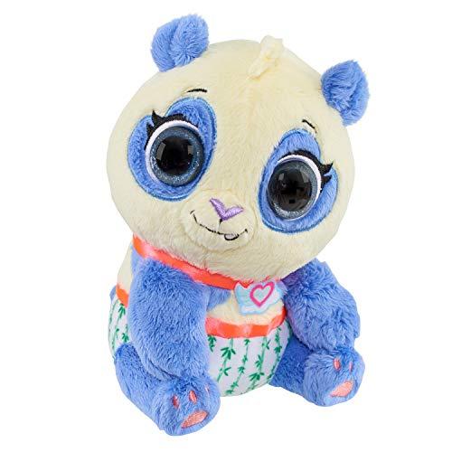 Disney Jr T.O.T.S. Bean Plush - Precious The Panda, Multi-Color