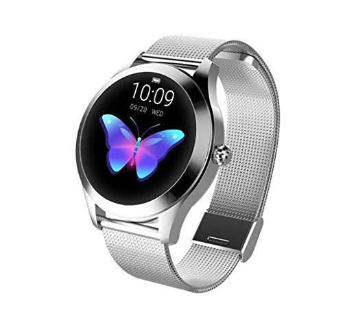 45 * 38 * 10.8Mm New KW10 Smart Bracelet Heart Rate Monitoring Flip Wrist Bright Screen,silversteel