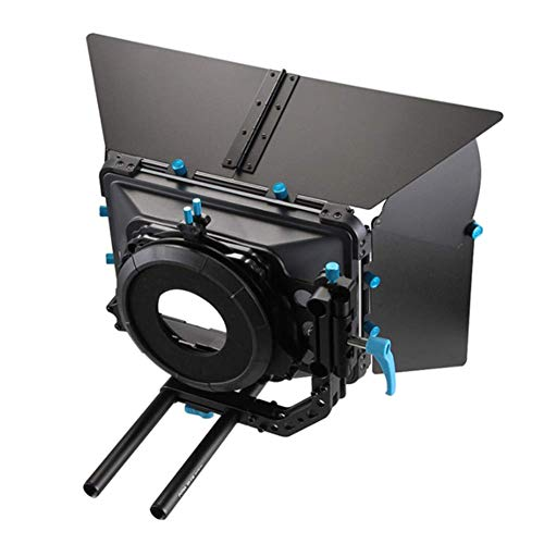 Professional Swing-Away Matte Box, Precision Universal Design, Dual Purpose Filter Tray, Adjustable Wings, Comprehensive Lighting Control, Glare Prevention