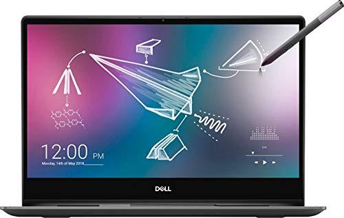 "Inspiron 7000 7391 2-in-1 13.3"" Black Edition 4K UHD Touch-Screen Laptop 10th Gen i7-10510U Intel UHD Graphics 620 FPrint Reader Active Pen Plus Best Notebook Stylus Pen Light (2TB SSD|16GB RAM|W10)"