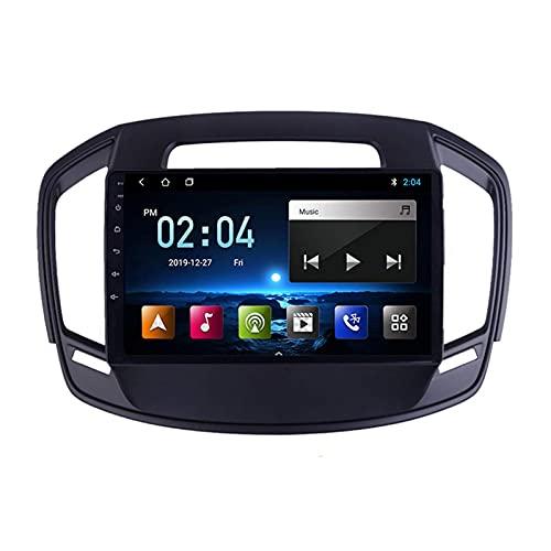 Android 10.0 Radio Estéreo para Opel Insignia/Buick Regal 2013-2017 Navegación GPS Pantalla táctil de 9 Pulgadas Reproductor Multimedia MP5 Receptor de Video con 4G WiFi SWC Carplay