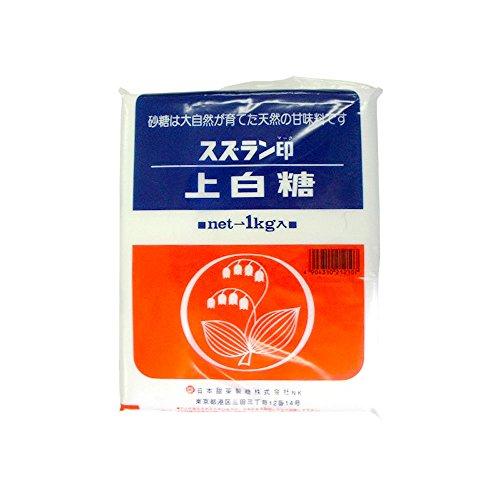 【常温】 日本甜菜製糖 スズラン印 上白糖 1kg 調味料 砂糖 (白砂糖)