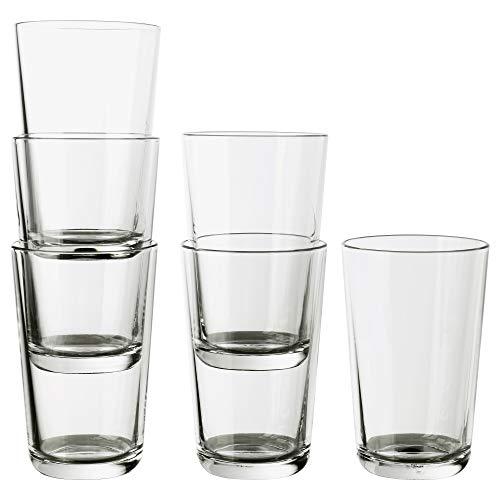 IKEA 602.797.11 Glas, Klarglas