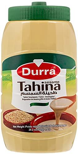 TAHINA-DURRA / CRÈME DE SÉSAME LIBANAISE / GRAND FORMAT 800 GR / Cuisine culinaire authentique