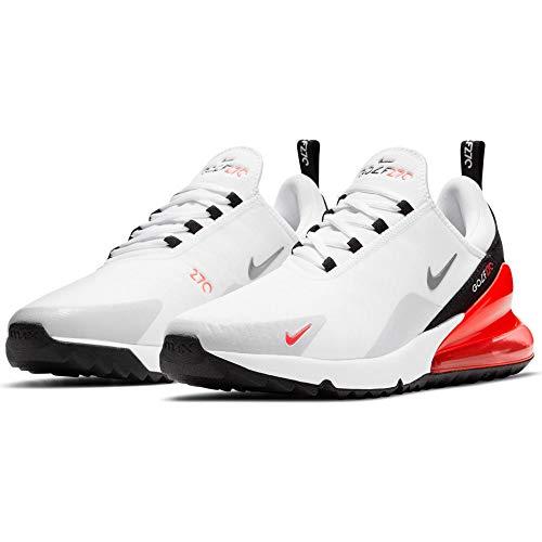 Nike Air MAX 270 G White/Cool Grey-Neutral Zapatillas Golf 9.5 UK (44.5 EU)