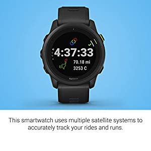Garmin Forerunner 745, GPS Running Watch, Detailed Training Stats and On-Device Workouts, Essential Smartwatch Functions, Black (010-02445-00)