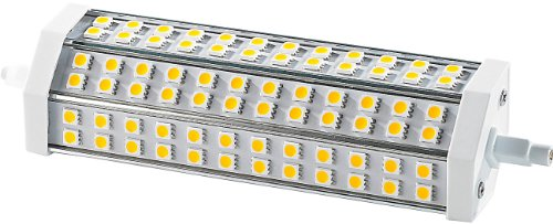 Luminea R7S Energiesparlampe: LED-SMD-Lampe m. 72 High-Power-LEDs R7S 189mm, 6000 K,1400lm (LED Leuchtmittel R7S)