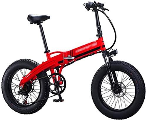 ZJZ Bicis eléctricas de 20 Pulgadas, Ciclo al Aire Libre Adulto de...