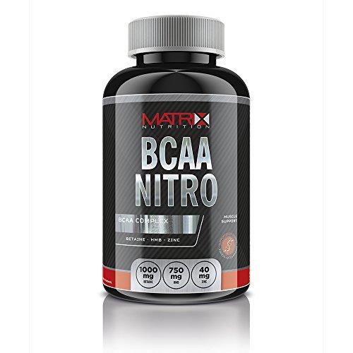 Matrix Nutrition BCAA Nitro x 120 Tablets - Branch Chain Amino Acid