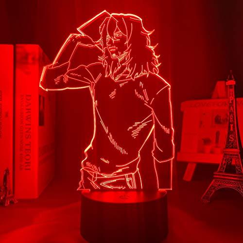 3d Lamp Anime My Hero Academia Shota Aizawa LightChild Kids Birthday Gift Manga Aizawa Lamp My Hero Academia for Bedroom Decor