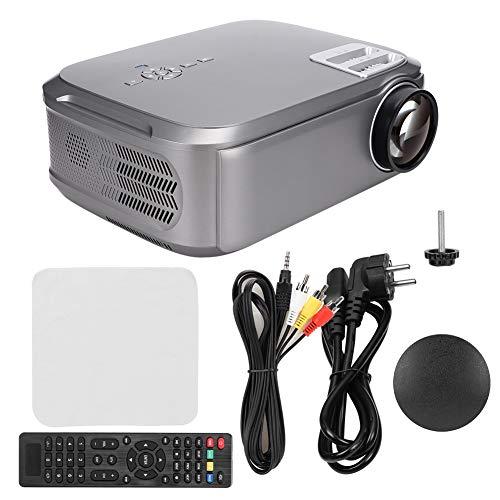 Heimkino Beamer, 1280 x 768 HD micro-LED-projector, ondersteunt 19 talen, 3500LM, verhouding 1000: 1