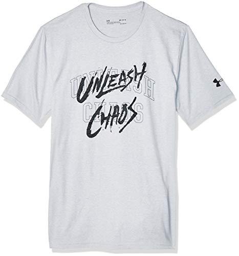 Under Armour Camiseta Baseline Mantra – Color – Gris, tallas, Hombre, 1351297, gris, X-Large