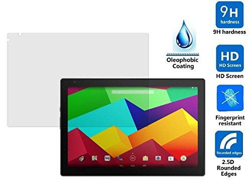 Theoutlettablet Protector de Pantalla Cristal Templado para Tablet Bq Aquaris E10 10.1' Quad Core Tempered Glass