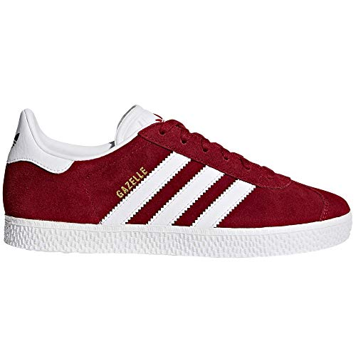 adidas Gazelle para Mujer. Zapatillas Depotivas, Sneaker Tenis (Burgundy/White, Fraction_38_and_2_Thirds)
